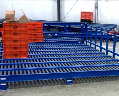 Conveyor Rollers System